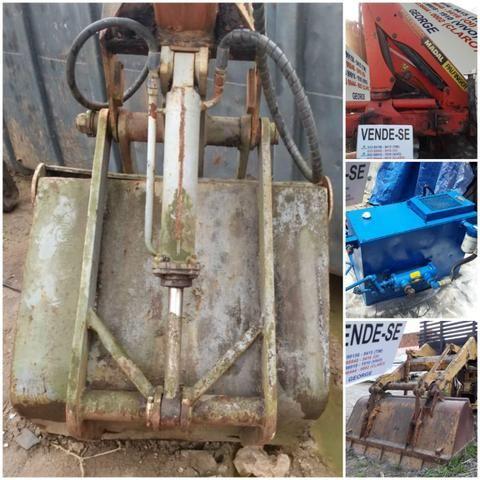 Unha hidraulica,que abre e fecha,para pegar areia brita carvão,ou o que quizer - Foto 6