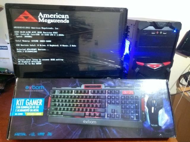 PC gamer i7 FORTNITE monitor full HD - Foto 3