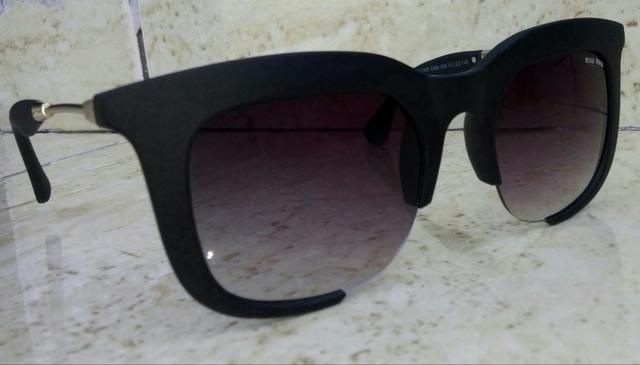Óculos De Sol Miu Miu Rasoir Preto - Bijouterias, relógios e ... d9e2d14286