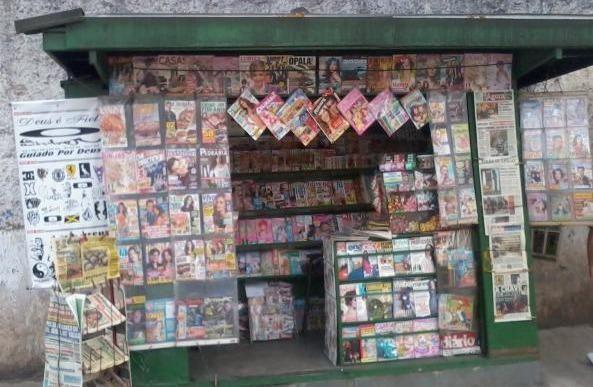 Bancas De Jornais E Revistas Equipamentos E Mobiliário St