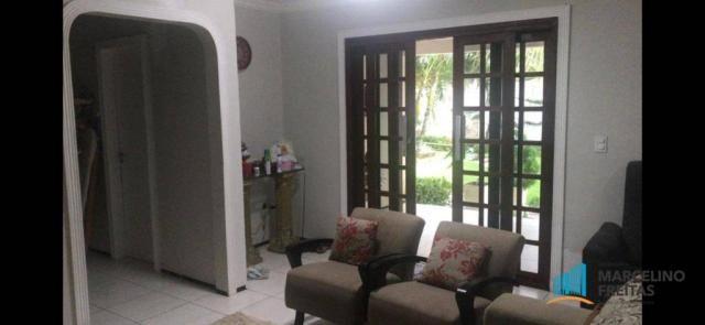 Casa à venda, 210 m² por R$ 550.000,00 - Mangabeira - Eusébio/CE - Foto 2