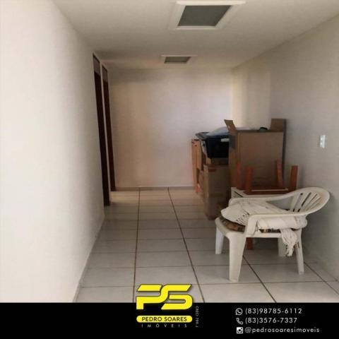 Apartamento com 3 dormitórios à venda, 147 m² por R$ 440.000 - Intermares - Cabedelo/PB - Foto 11