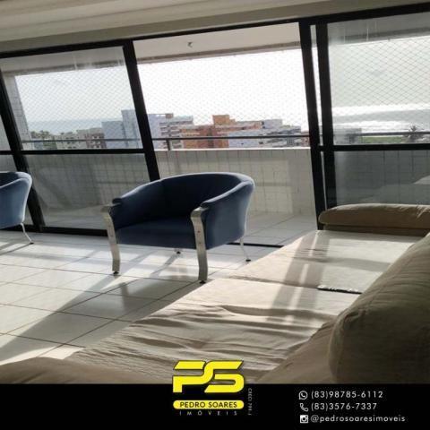 Apartamento com 3 dormitórios à venda, 147 m² por R$ 440.000 - Intermares - Cabedelo/PB - Foto 8