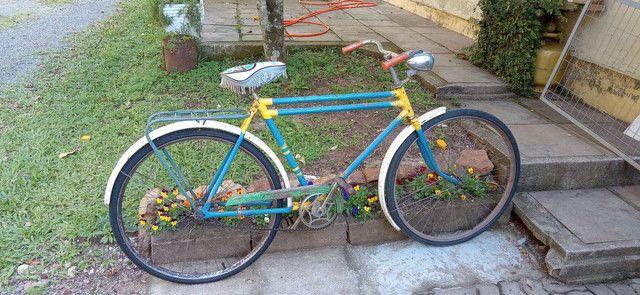 Bicicleta Antiga Anos 60 Decoração Ambientes - Foto 2