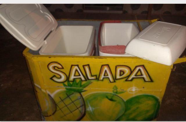 Vendo carrinho de salada - Foto 3