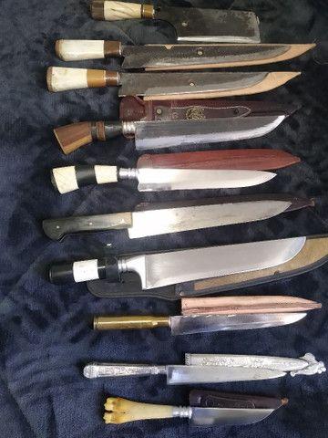 Vendo ou troco coleção de facas