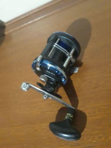 Carretilha para pesca. - Foto 2