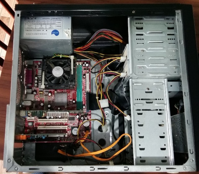 Gabinete 4 Baias TAC (com componentes) - Foto 4
