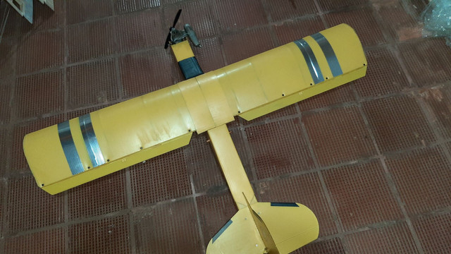 Aeromodelo Pastinha J3. Motor OS46ax
