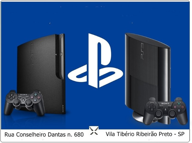 Playstation 3 slim / Super slim + 1 Jogo ( Leia a Descrição )