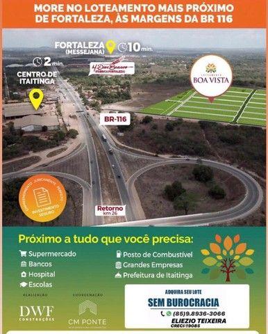 Loteamento Boa Vista, infraestrutura completa e sem burocracia !! - Foto 2
