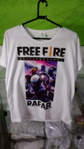 FreeFire camisas - Foto 3