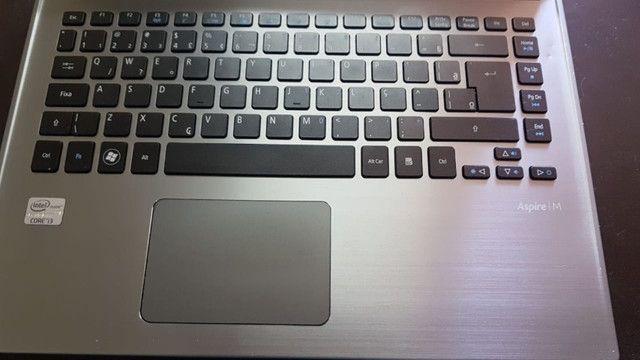 "Ultrabook-Acer Aspire m5-481T-Core i3-1.8ghz-6gb RAM-HD 320gb-Tela 14.0""-WIndows 10 - Foto 6"