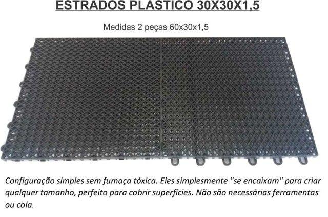 Estrados 30x30x1,5 cor preto - Foto 5
