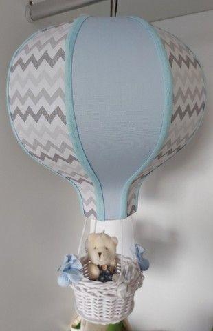 Lustre balão e nichos redondos bebê  - Foto 3