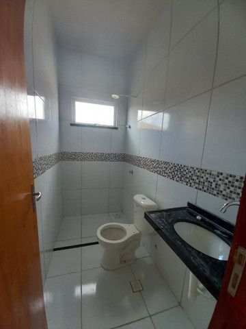 DP casa nova com 2 quartos 2 banheiros com sala 2 ambientes e garagem - Foto 10