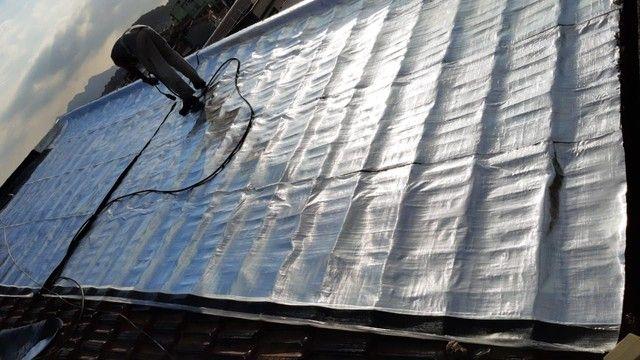 Instalação de manta asfáltica aluminizada. Fim nas infiltrações! - Foto 6