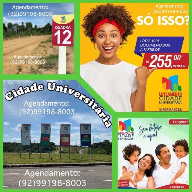 Loteamento Cidade Universitária- entrada parcelada 3x no boleto!!!
