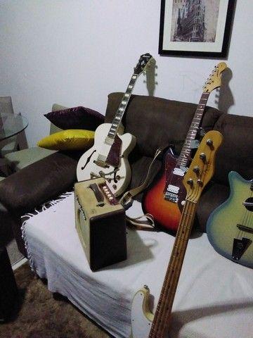 Caixa Amplificada de Guitarra Danelectro(Rara no Brasil) - Foto 2