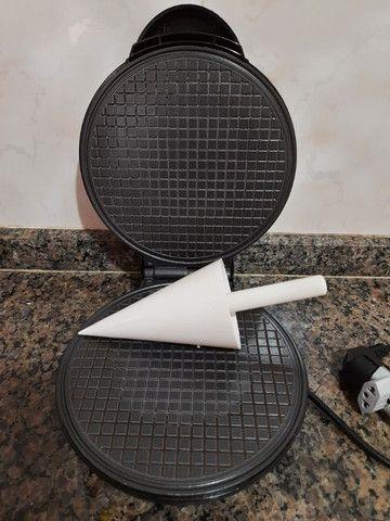Máquina de fazer Waffles importada - Foto 2