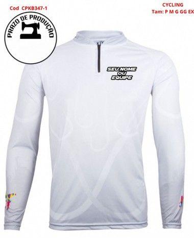 Camisa com Fator de Proteção Uv Dri fit - Foto 2