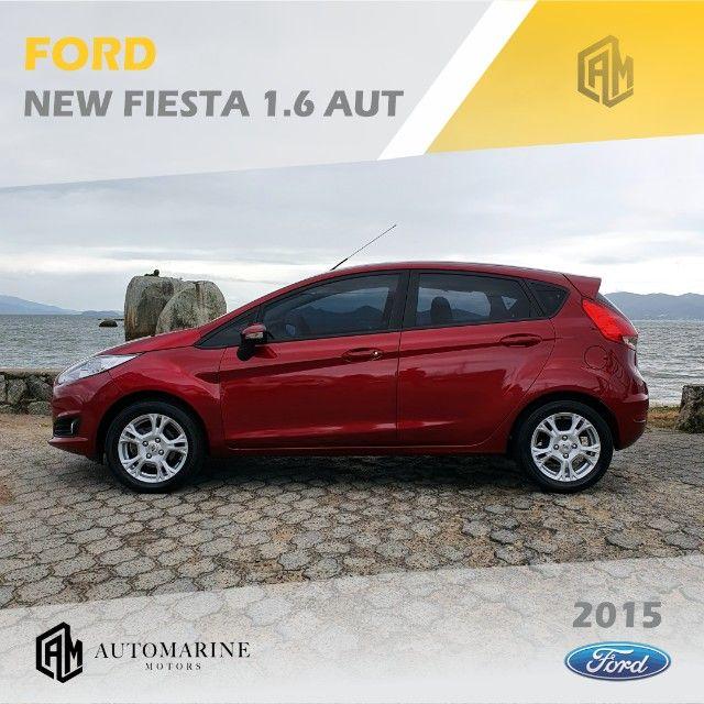 Ford New Fiesta SE 1.6 16v Aut. Único Dono - Muito Novo  - Foto 3