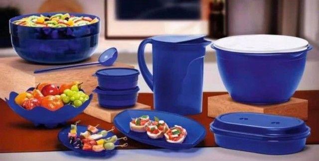 Jogo fantástico tupperware 10 peças