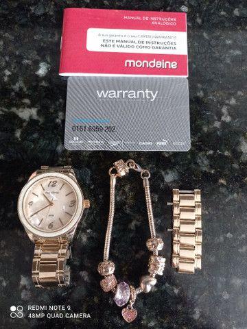Relógio Mondaine marmorizado