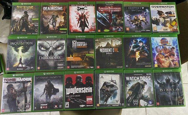 Jogos de Xbox one / aceito cartao