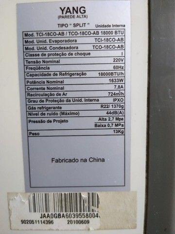 Ar Condicionado  - Evaporadora 18.000 Btus - Foto 4