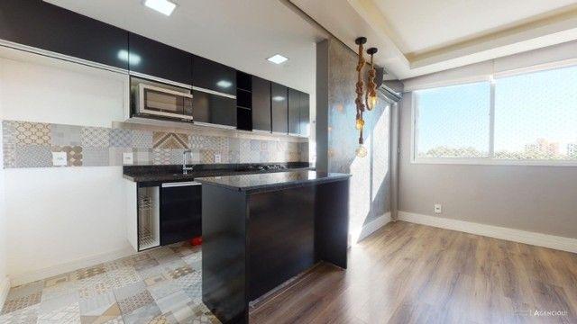 Apartamento Mobiliado com 59 m² de 2 dormitórios no Jardim Carvalho - Foto 4