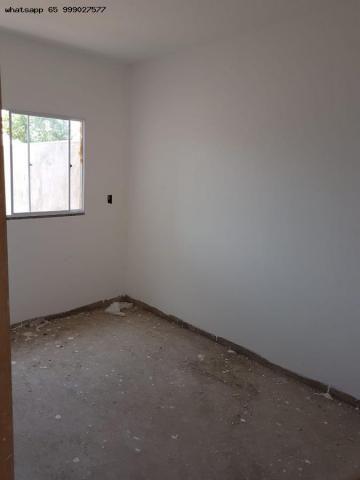 Casa para Venda em Várzea Grande, Novo Mundo, 2 dormitórios, 1 banheiro, 2 vagas - Foto 9
