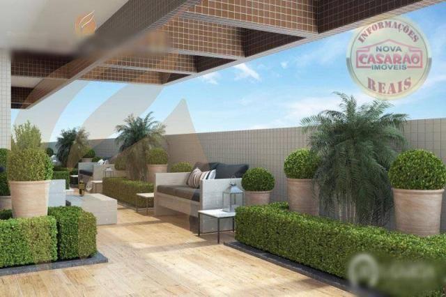 Apartamento com 2 dormitórios à venda, 93 m² por R$ 465.000 - Aviação - Praia Grande/SP - Foto 6