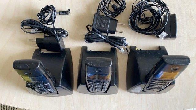Vendo 03 aparelhos sem fio intelbras digital,semi novo. Pouco uso. Valor de apenas um. - Foto 3