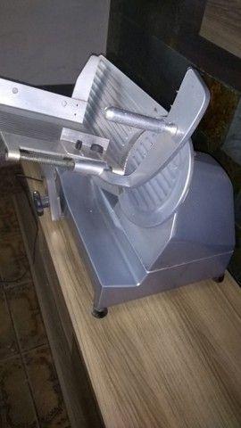 Fatiador de frios semi automatico Paladium disco de 20cm - Foto 2