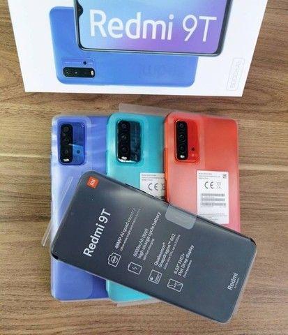 Redmi 9T 64 GB Bateria 6000 mAh Cinza/Azul  - Foto 4