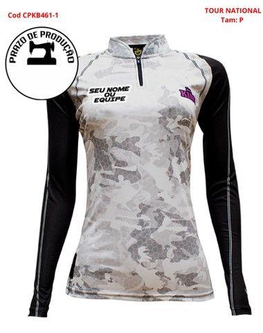 Camisa com Fator de Proteção Uv Dri fit - Foto 5