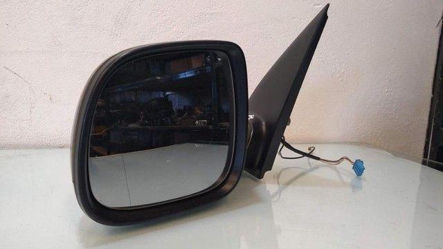 Espelho retrovisor lateral esquerdo elétrico Volkswagen Amarok - Foto 2