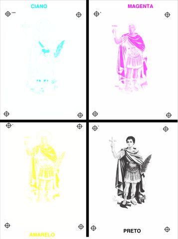 Separação de cores para serigrafia ou silk-screen - Foto 5