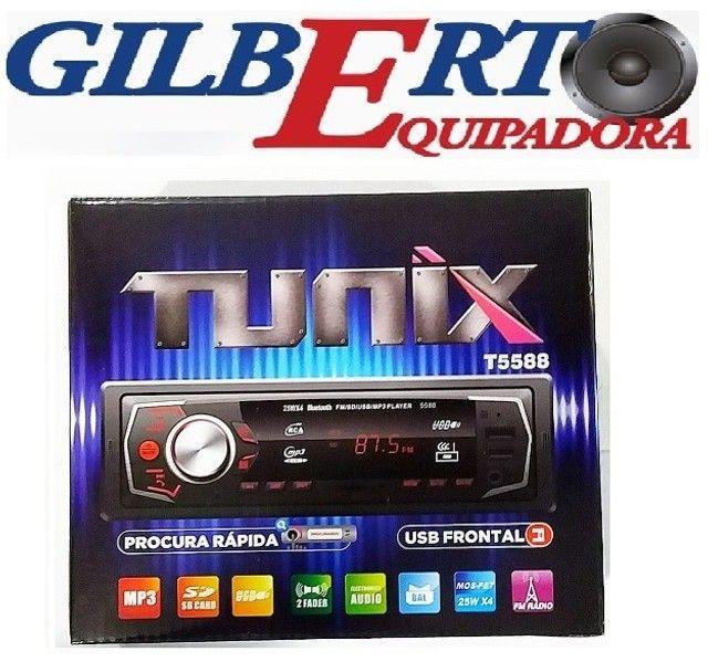 Radio com bluetooth Instalação grátis