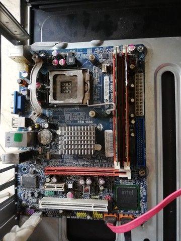 Placa mãe DDR3 socket 775 - Foto 2