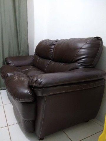 Sofá usado de 2 lugares - Foto 3