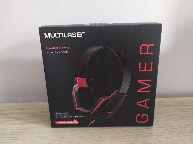 Headset Gamer P2 Stereo Multilaser Ph073 - Foto 2