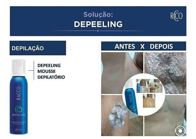 OFFerta Depilação Sem DOR - Mousse Depeeling Racco - Uso Imediato - Validade próxima - Foto 2
