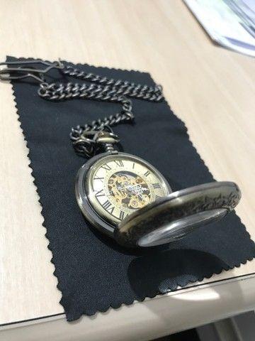 Relógio de bolso automático YISUYA ORIGINAL - Foto 3