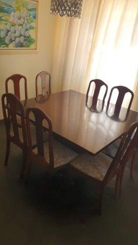 mesa de jantar com 8 cadeiras  - Foto 2