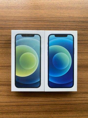 iPhone 12 128gb. Novo, 1 ano de garantia Apple.