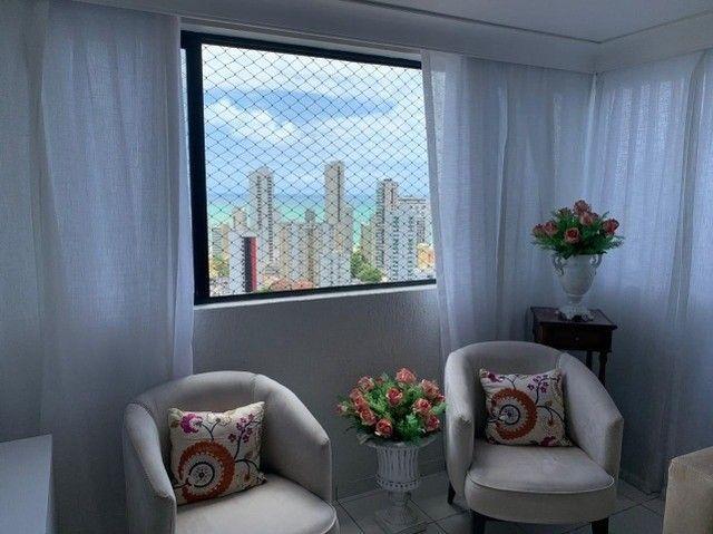 Apartamento em Boa Viagem, lindo, com 3 quartos, 2 vagas e vista mar. - Foto 19