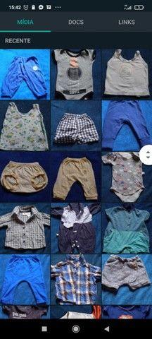 Lote bebê 0-6 meses (+ de 50 peças) - Foto 4