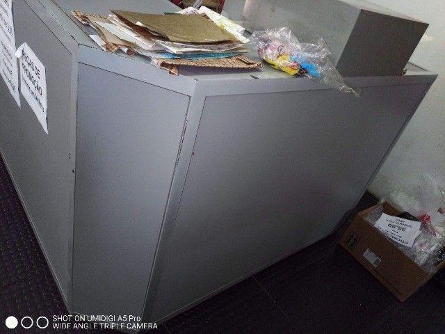 Balcão caixa em L - Foto 2
